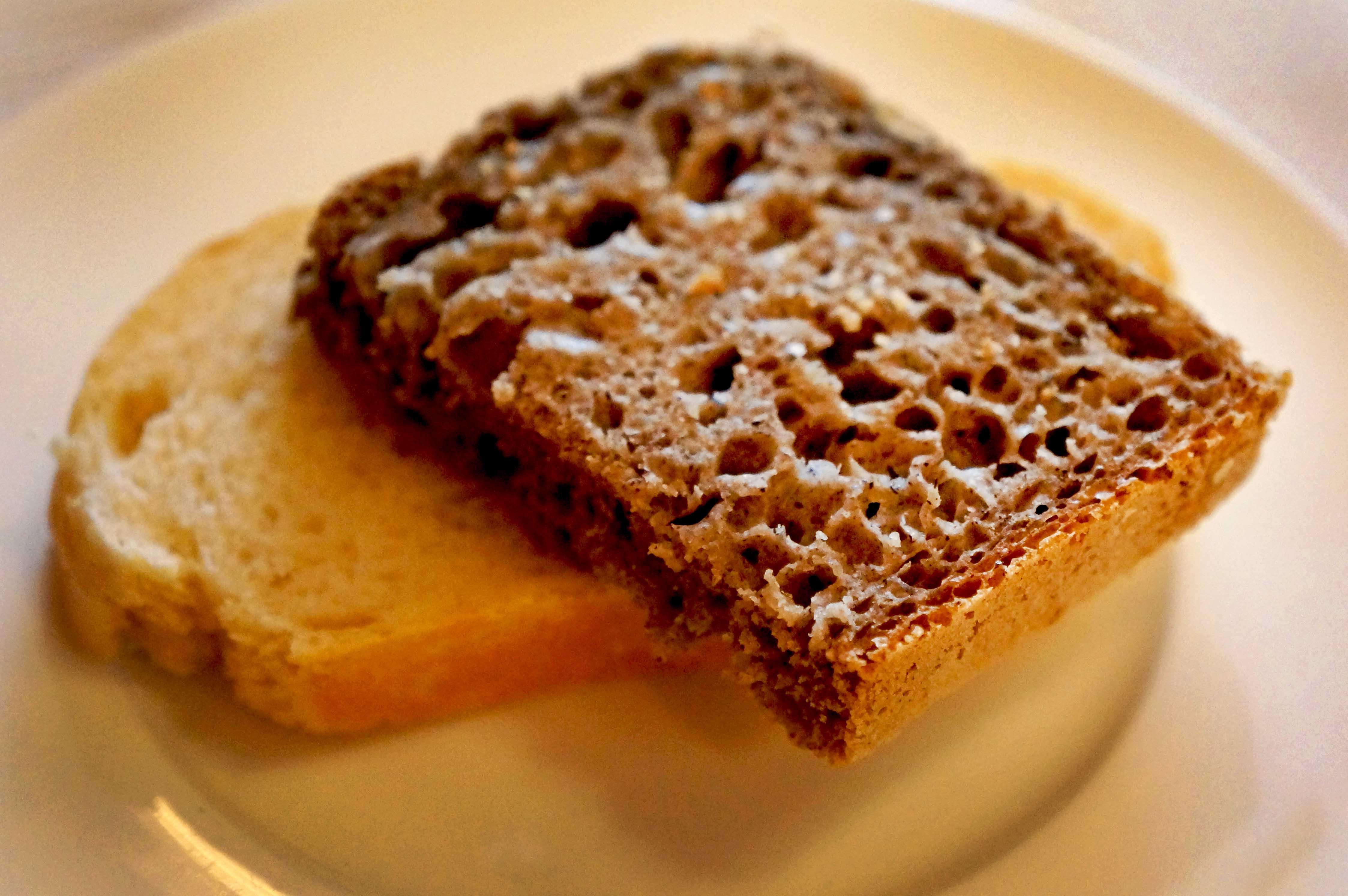 hleb koji se pravi u restoranu