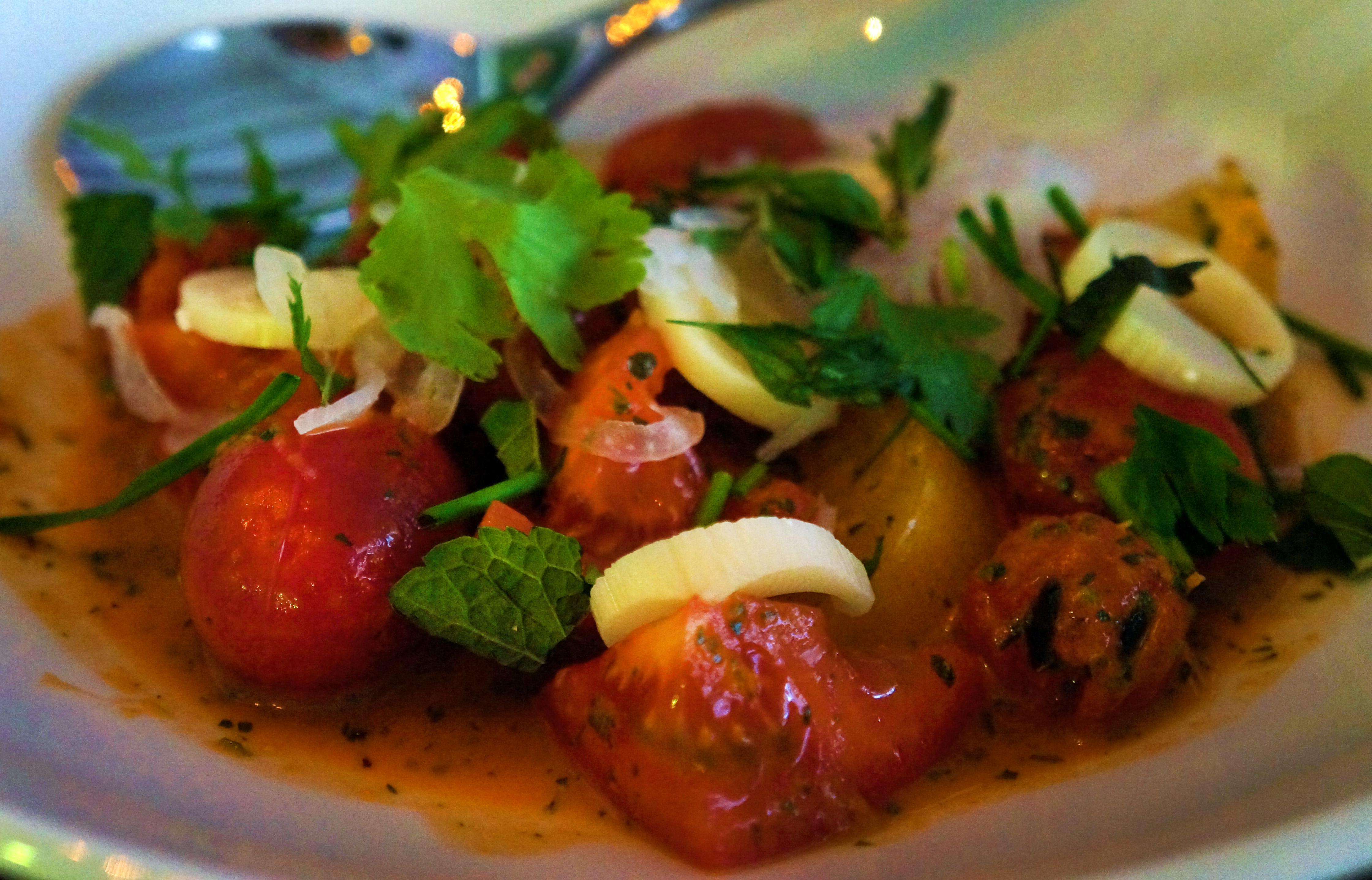 salata od paradajza i lubenice